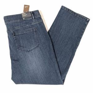 NWT J. Jill Brighton straight leg jeans sz 16